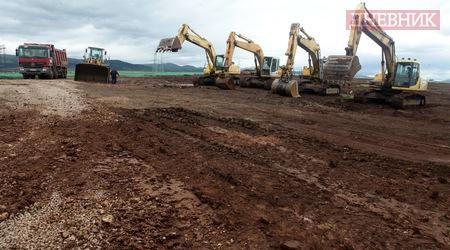 Официалното начало на строителството на същинската част от завода за отпадъци в София Фотограф: Анелия Николова