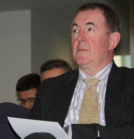 Генералният директор на белгийската компания Recupel Питър Сабе представи добри практики за разделно събиране на отпадъци на кръгла маса в София
