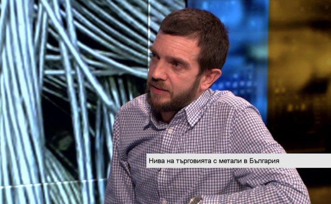 Владимир Димитров, изп. директор на AРИ. Снимка: Bloomberg TV Bulgaria