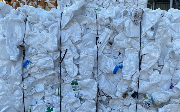 Рециклируеми суровини от пластмаса