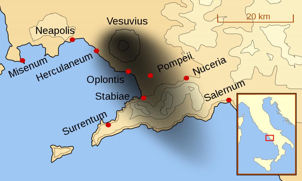 Везувий е изригвал периодично в продължение на повече от 12 000 години: Снимка: Уикипедия