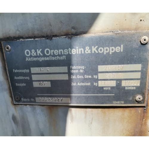 Колесен багер O&K MH 6 PL PMS